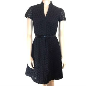 Tahari Arthur S Levine Short Sleeve Dress Size 2